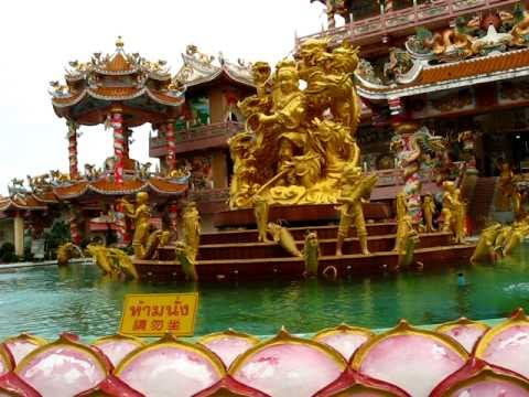 Chinese Temple @ Bang Saen in Chon Buri - Phil in  Bangkok