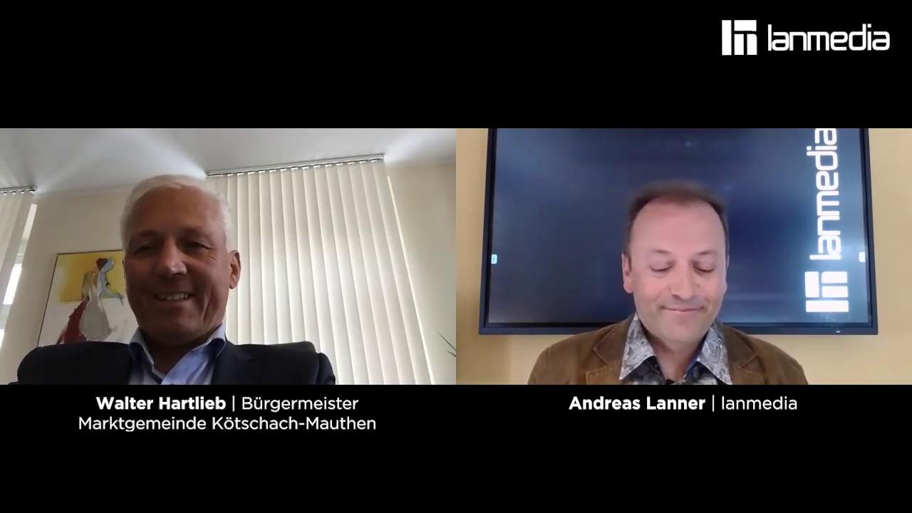 Walter Hartlieb | Bürgermeister a.D Kötschach-Mauthen | lanmedia Business Talk