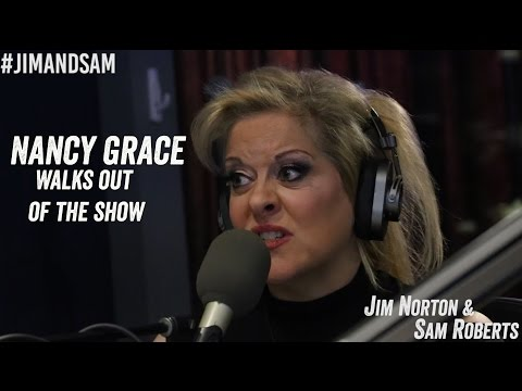 Nancy Grace Walks Out on Jim Norton and Sam Roberts