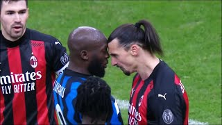 FIGHT Zlatan VS Lukaku And Furious Moments in Football