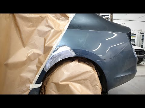 Auto Body Repair | Dent Repair | Prepare Car For Painting | Sanding Primer | Evercoat / Lechler / 3M