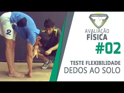 Avaliação Física #2 - Teste de Dedos ao Solo - Flexibilidade