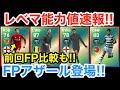 5/9週間FPレベマ能力値速報!!FPアザール登場!!【ウイイレアプリ2019】