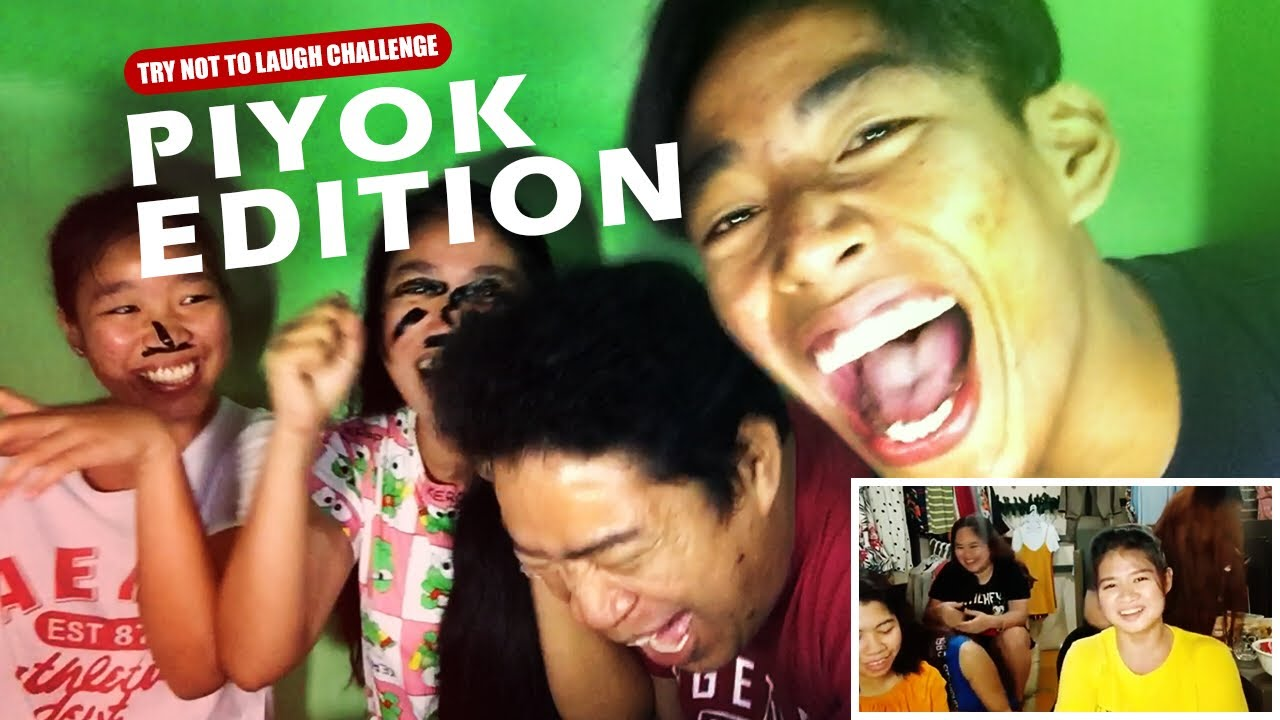 PIYOK EDITION//TRY NOT TO LAUGH//KUYA JHO TV
