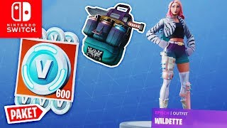 Buy Wildette Package + 600 V BUCKS + Wildette & Pallet Pack | Fortnite Switch