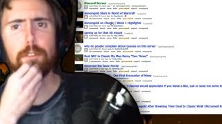 Asmongold Browses Through Posts On The Classic Wow Subreddit