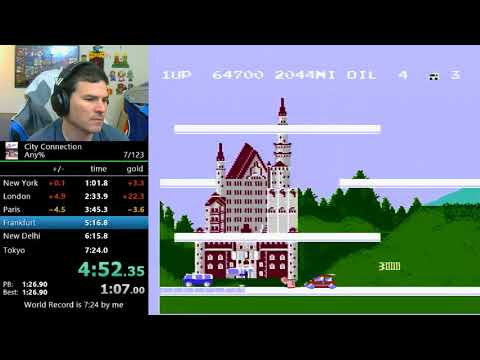(7:09) City Connection (former world record)