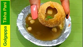 healthy pani puri recipe