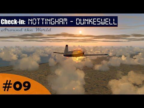 Flight Simulator | Around the World #9 - Nottingham (EGBN) - Dunkeswell (EGTU) (VATSIM) | Mooney