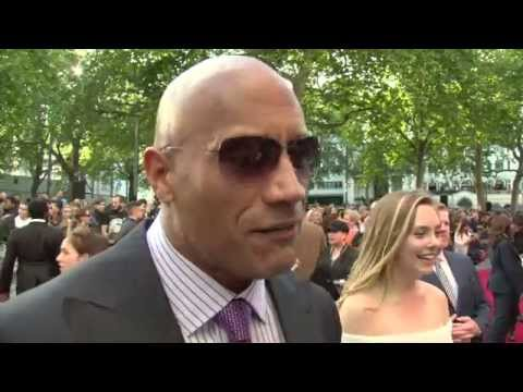 "San Andreas World Premiere - Dwayne Johnson ""The Rock"" Interview"