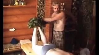 Похудеть быстро и легко  русская баня  паримся правильно  мастер класс