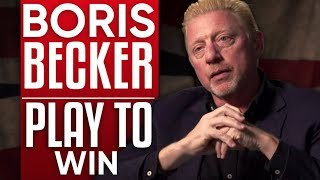 BORIS BECKER - PLAY TO WIN: How I Reached the Wimbledon Hall of Fame - Part 1/2 | London Real