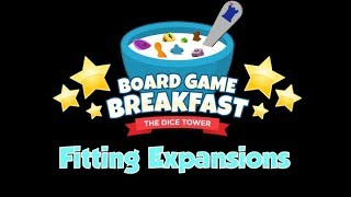 Board Game Breakfast - Fitting Expansions