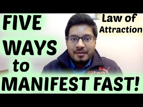 Manifest FAST with Law of Attraction - MindBodySpirit by Suyash