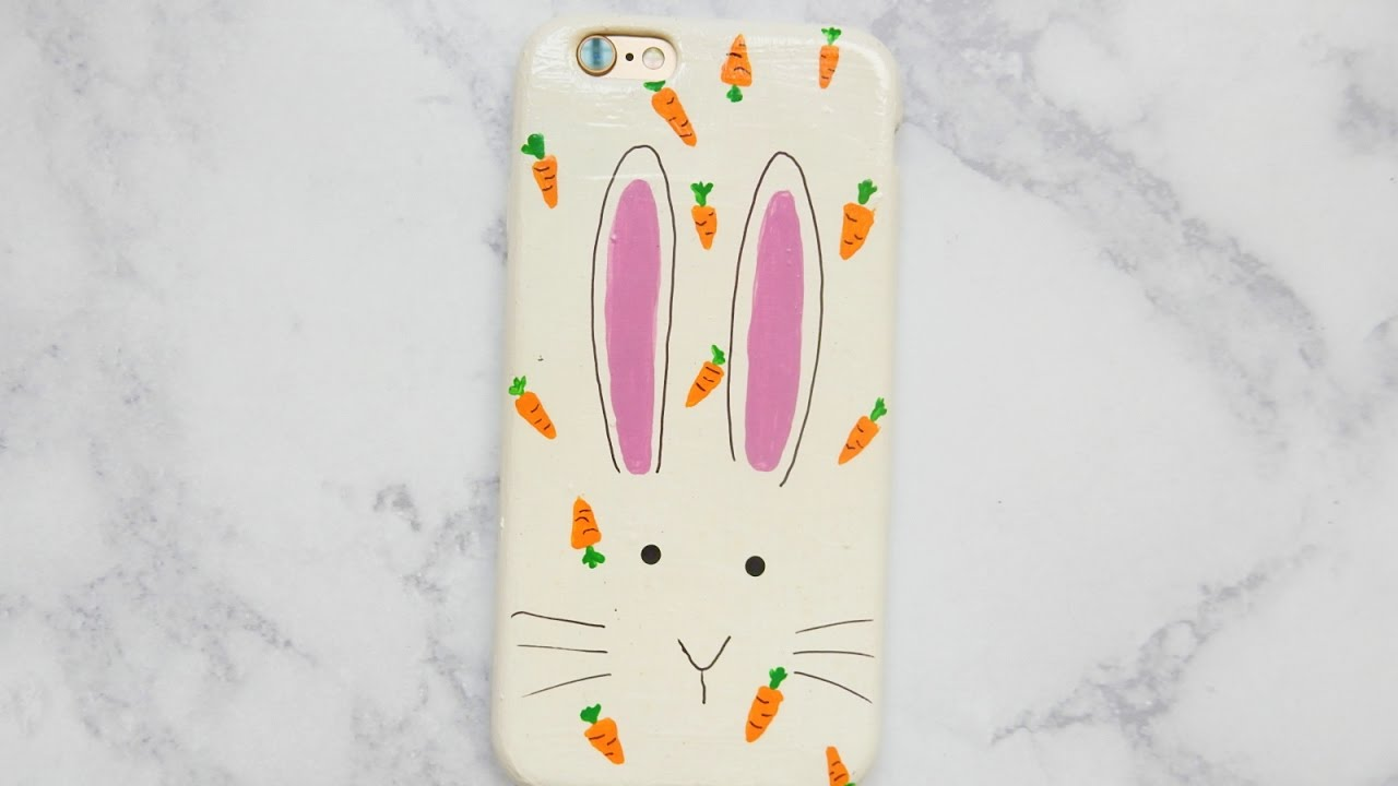 promo code 5896f f8971 DIY Easter Bunny Phone Case