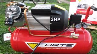 Компрессор Forte VFL-50. Обзор