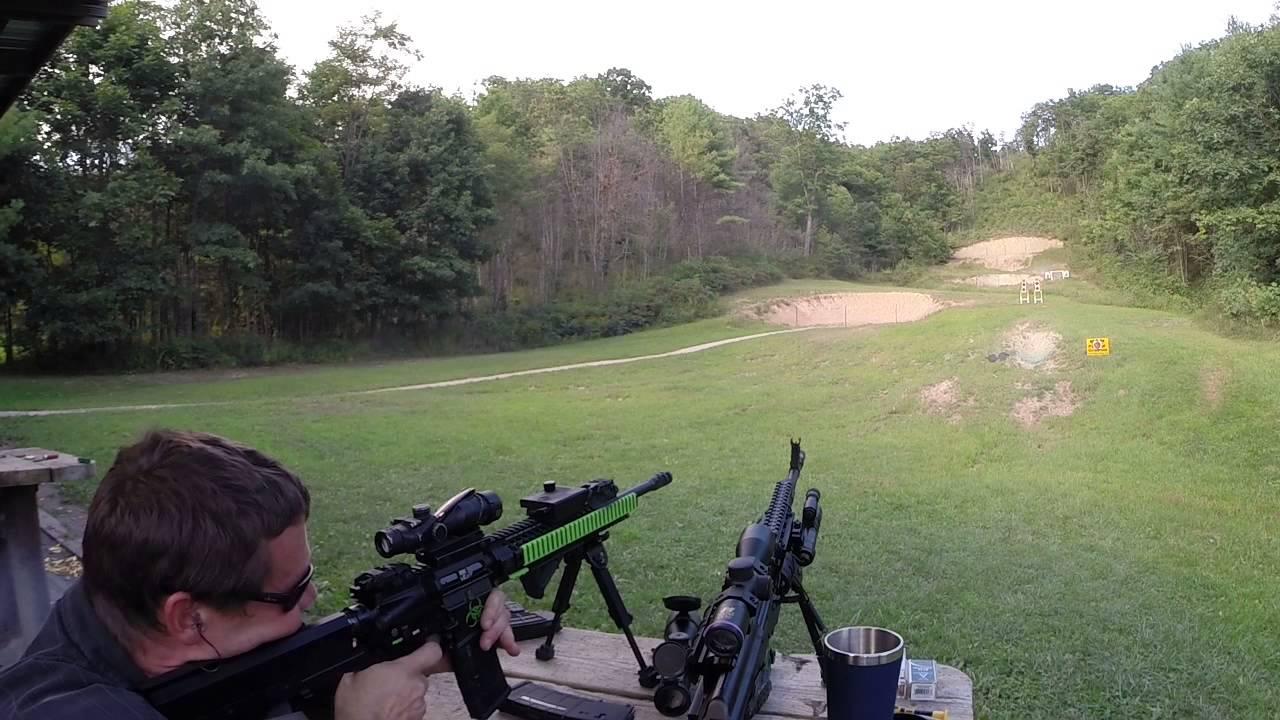 Caliber 45 Shooting targets at 15 yards. - YouTube