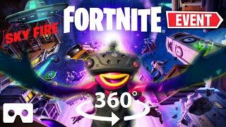 360° Fortnite Season 7 'Sky Fire' Live Event in VR