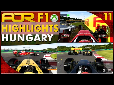 F1 2016 | AOR XB1 F1: S12 Round 11 - Hungarian GP (Official Highlights)