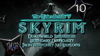 "Skyrim | ""Halted Stream Camp (Money)"" | Legendary Difficulty PS3 Gameplay 10"