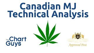 Canadian Marijuana Stocks Technical Analysis Chart 10/11/2019 by ChartGuys.com
