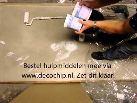 Impregneer coating epoxy pu decochip doe het zelf youtube