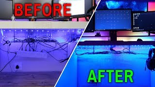 Re-Doing Cable Management & Adding Better RGB - Setup Update #7