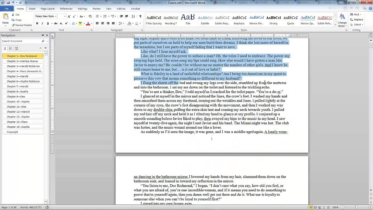 Using Adobe InDesign With Word