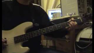 Helloween - Victim Of Fate (Bass cover)
