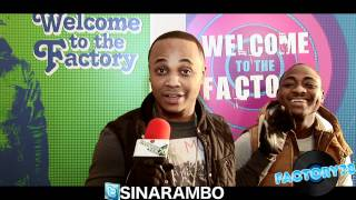 Sinarambo, Davido & B-Red - Freestyle in the Factory.