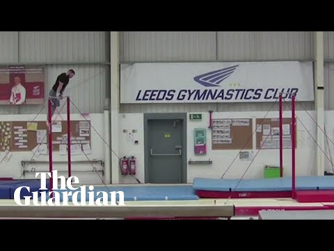 download Gymnast in Leeds sets horizontal bar backflip world record of nearly 20ft