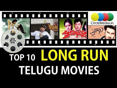 Top 10 Long Run Telugu Movies Of All Time   1000 Days Telugu Movies   CircleMedia.in