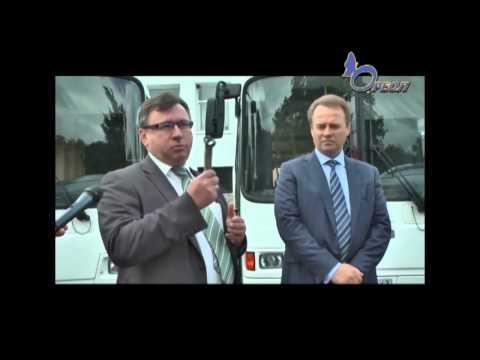 Жители Кингисеппа и района получили новые автобусы. Комфорт и отечественное качество. Ореол