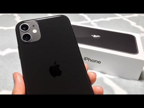 IPhone 11 Unboxing + Set Up