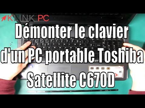 How to disassemble the keyboard of a Toshiba Satellite C670D laptop from YouTube · Duration:  2 minutes 9 seconds