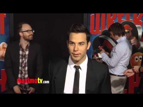 Skylar Astin WRECK-IT RALPH World Premiere Cherry-Red Carpet ARRIVALS