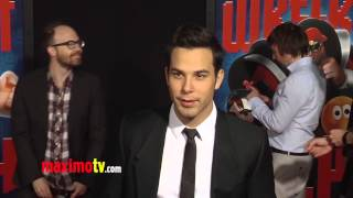 Skylar Astin WRECK-IT RALPH World Premiere Cherry-Red Carpet ARRIVALS