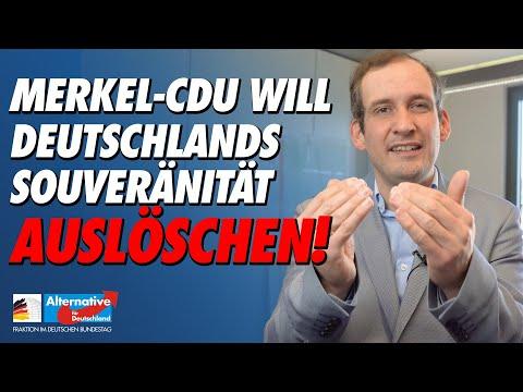 Merkel-CDU will Deutschlands Souveränität auslöschen