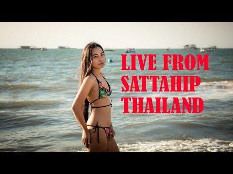 Live from the beach of Sattahip, Thailand