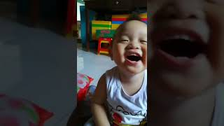Laughing baby 😂😂