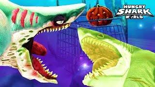 Hungry Shark World - Zombie Shark ZOMBIFIES Megalodon