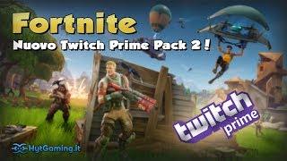 Skin gratis con il nuovo Twitch Prime Pack 2 di Fortnite