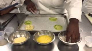 """how To Make Fried Green Tomatoes"""