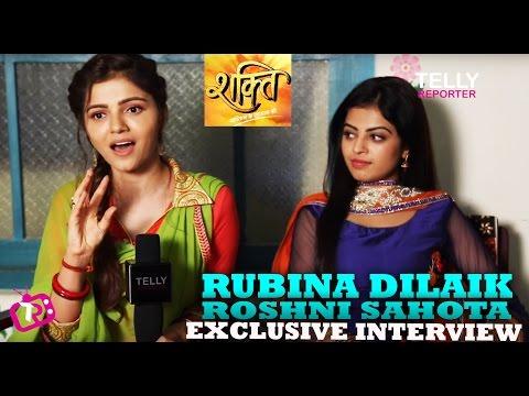 Rubina Dilaik & Roshni Sahota Interview | Soumya & Surbhi of Shakti  Astitva Ke Ehsaas Ki Colors TV