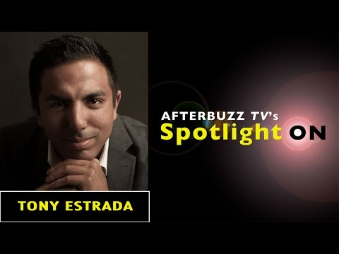 Tony Estrada Interview | AfterBuzz TV's Spotlight On