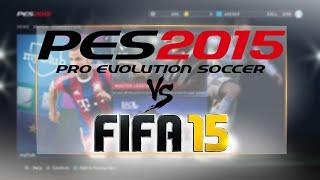 PES 2015 MASTER LEAGUE vs FIFA 15 CAREER MODE!