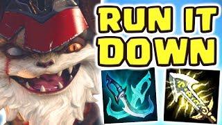 LET'S RUN IT DOWN MID!! FULL AD KLED MID | I DO SO MUCH DAMAGE, SHE GOT DELETED!! - Nightblue3