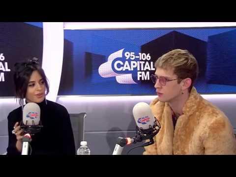 Camila Cabello & Machine Gun Kelly Interview At Capital FM