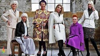 Как Одеваться после 60,70 Лет Фото Модная Одежда для Женщин за 60 Мода и Стиль!