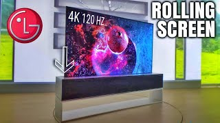 LG Signature 4K Rollable TVs a…